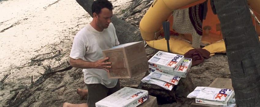 Karton, FedEx Tom Hanks